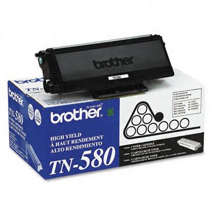 Brother TN580 cartouche de toner originale noire haute capacité