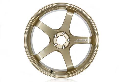 Advan GT Premium Wheel 21x12 5x114.3 20mm Racing Gold Metallic