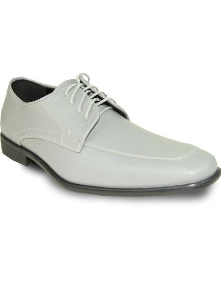 Men's Oxford Formal Tuxedo Cement for Prom Wedding Lace Up Dress Shoe