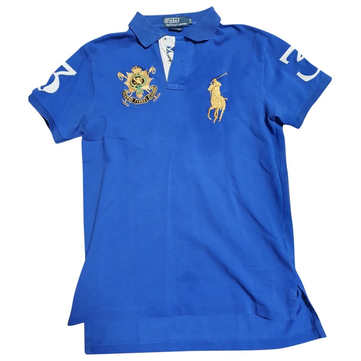 Polo Ralph Lauren \N Blue Cotton T-shirts for Men S International
