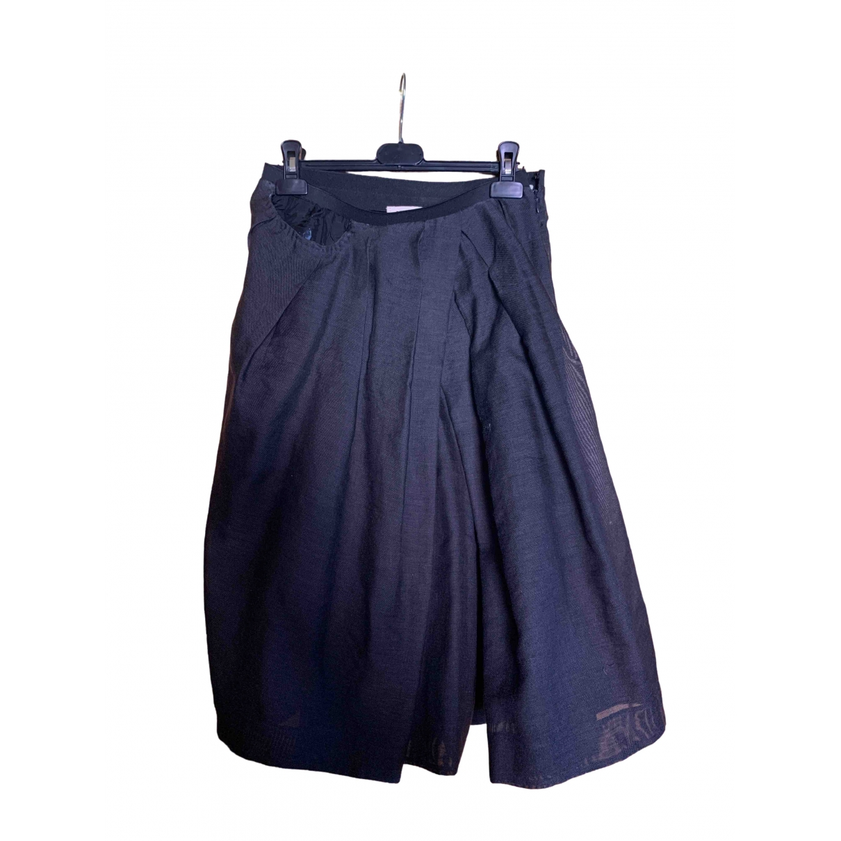 Marni \N Anthracite Cotton skirt for Women 40 IT