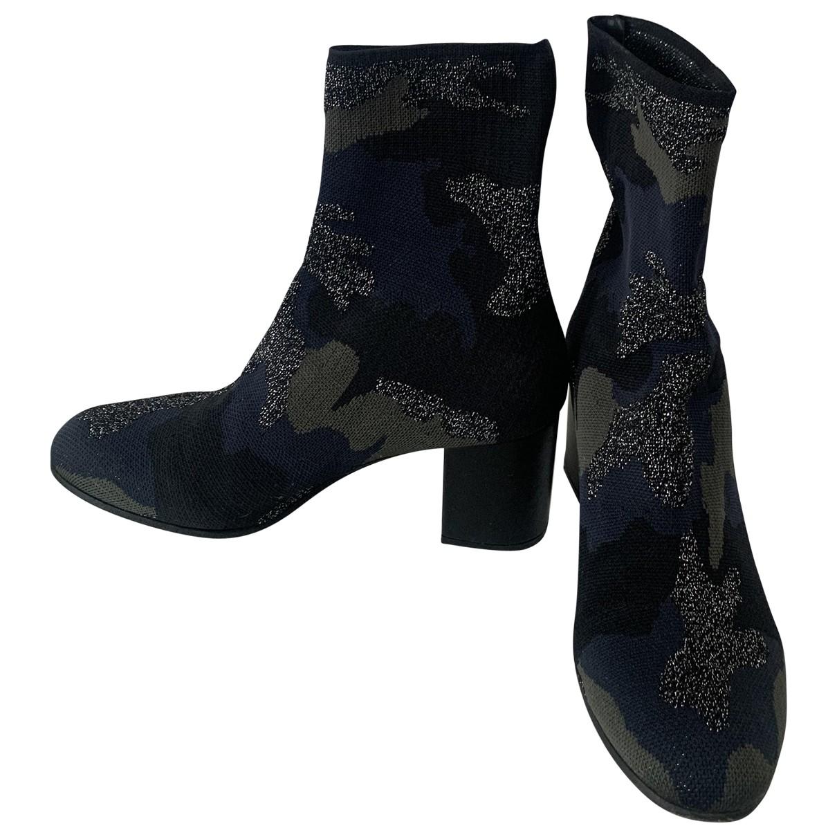 Zadig & Voltaire \N Green Cloth Boots for Women 40 EU