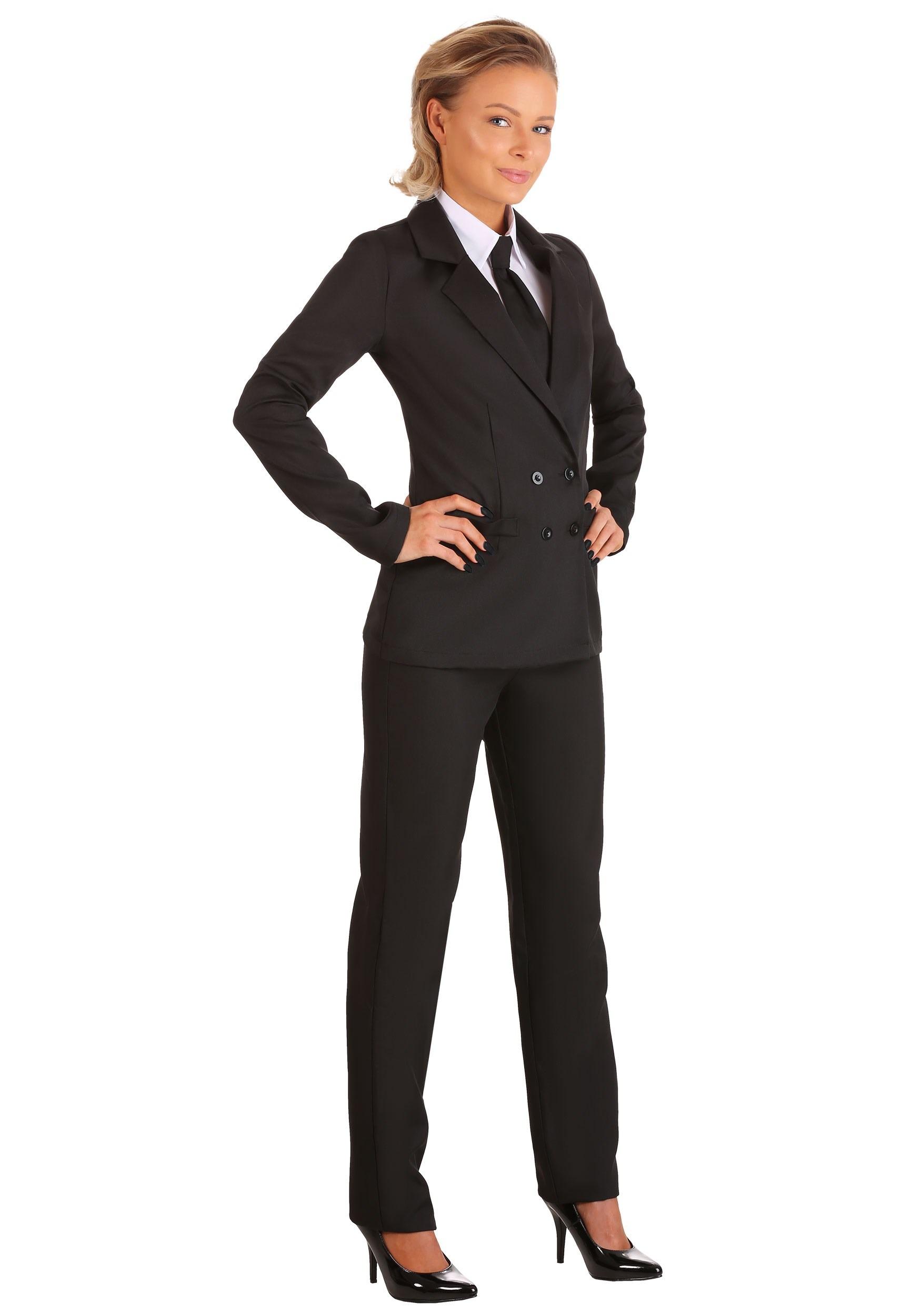 Black Women's Suit