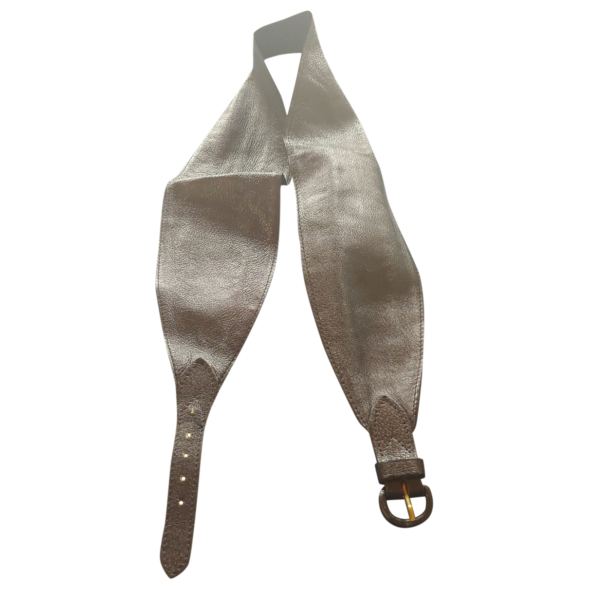 Mulberry \N Black Leather belt for Women 80 cm
