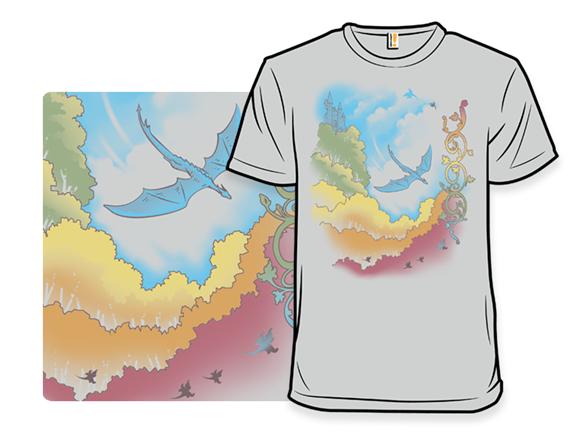 Colors Ablaze T Shirt