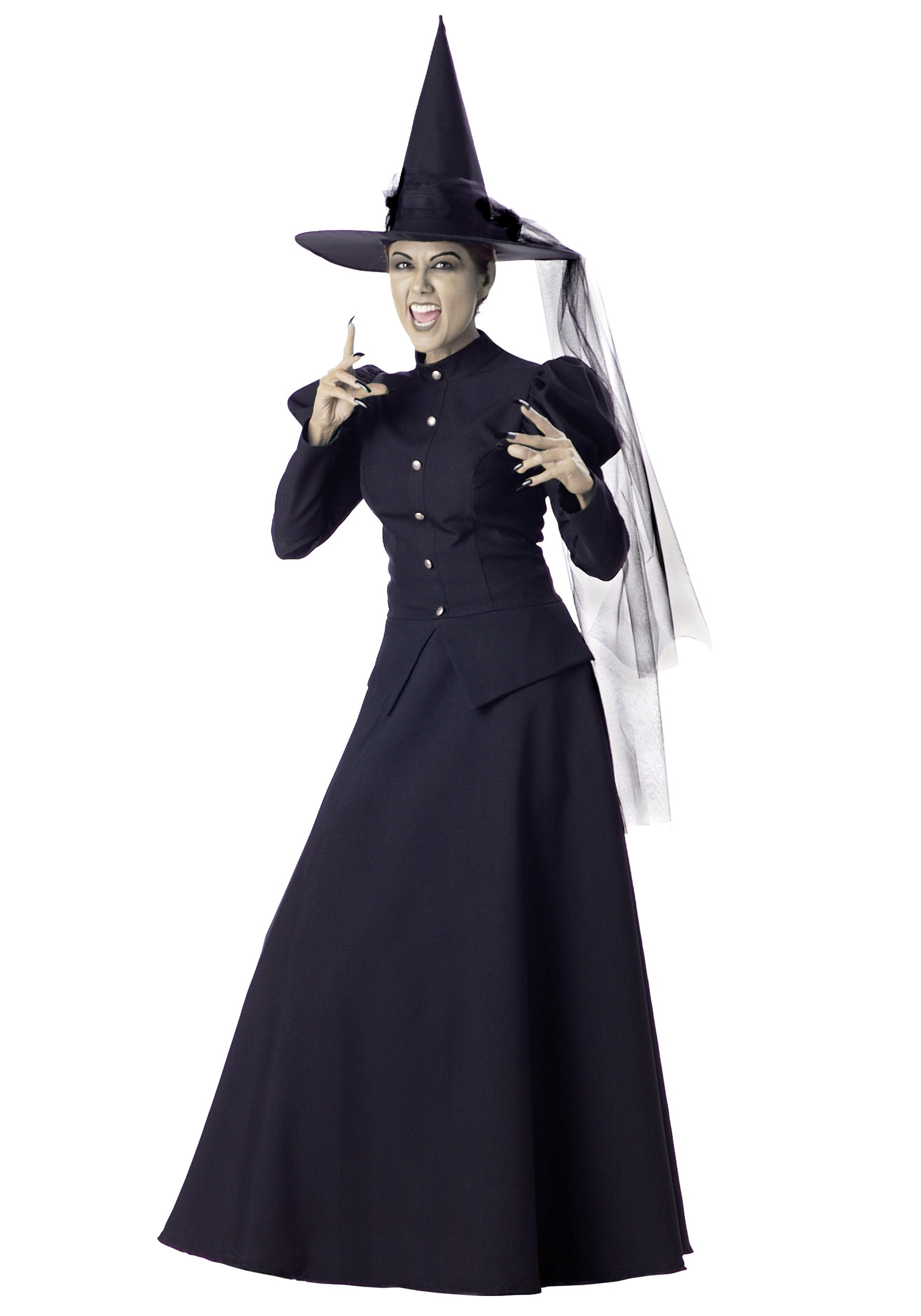 Women's Black Witch Costume | Wicked Witch Costume