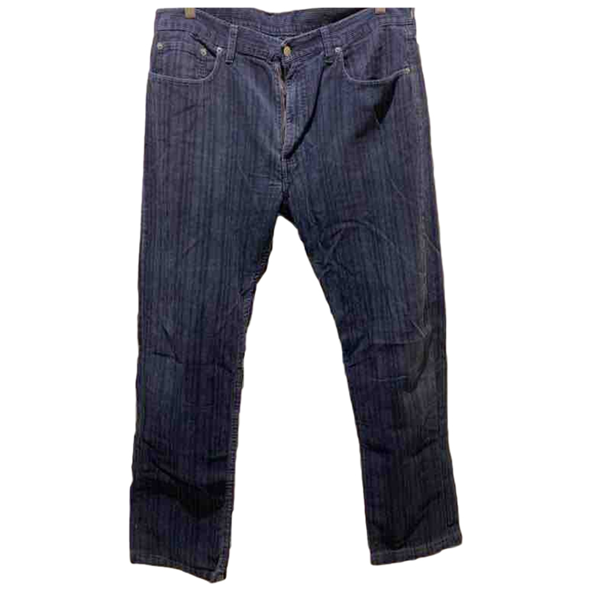 Levi's \N Blue Cotton Jeans for Men 36 US