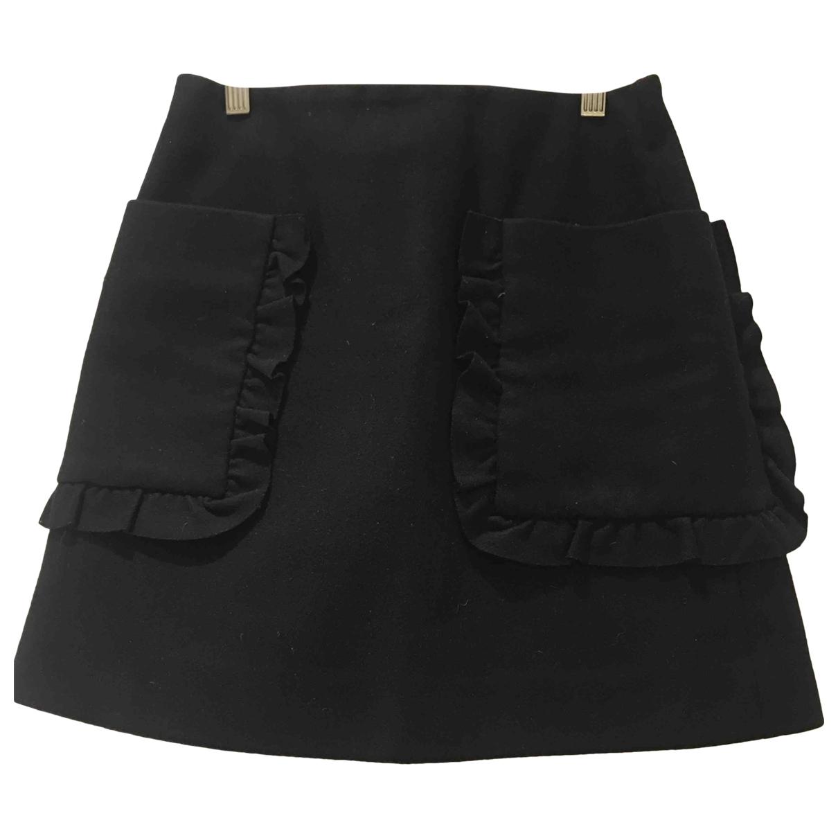 Cos \N Black Wool skirt for Women 36 FR