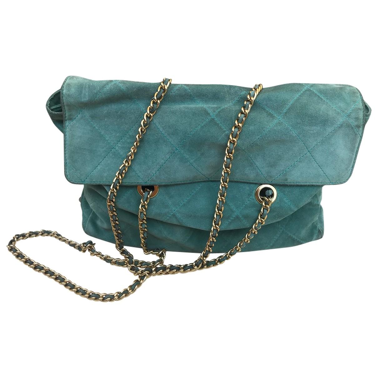 Prada \N Turquoise Suede handbag for Women \N