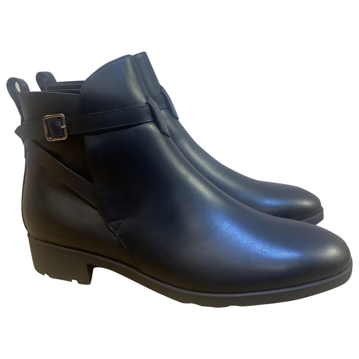 Bally \N Black Leather Ankle boots for Women 41 EU