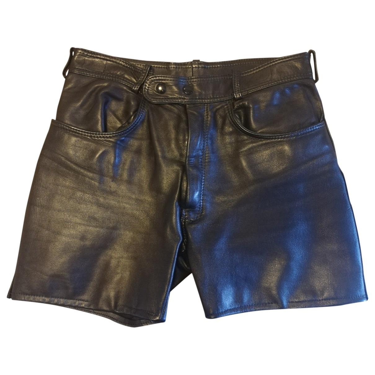 Non Signé / Unsigned \N Black Shorts for Men 48 IT