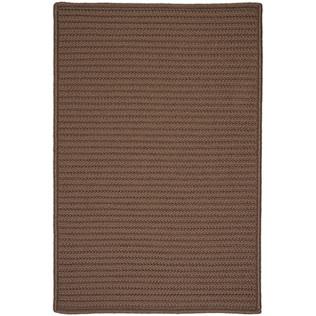 Colonial Mills Nantucket Reversible Braided Indoor/Outdoor Rectangular Rug, One Size , Brown