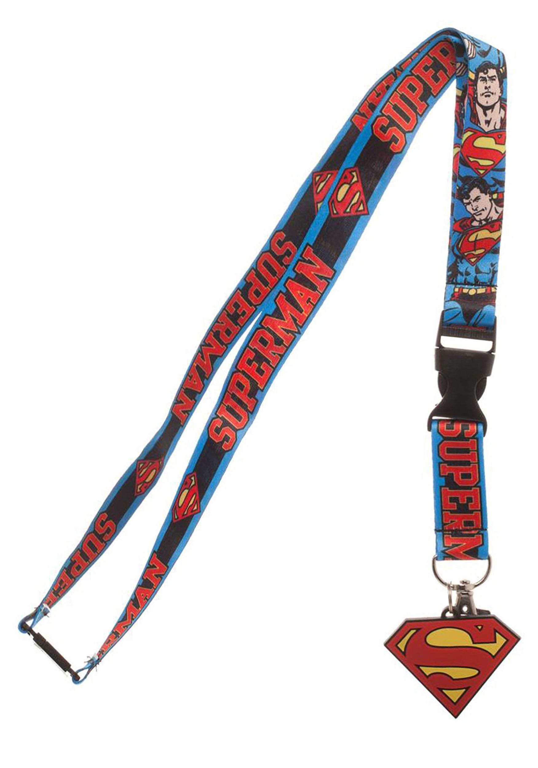 DC Superman Lanyard
