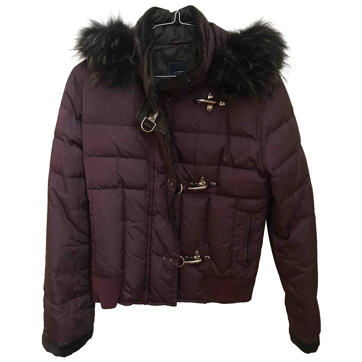 Fay \N Burgundy coat for Women S International