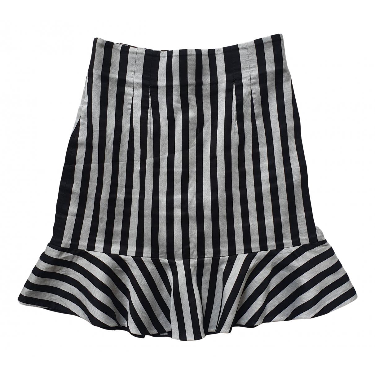 Dolce & Gabbana \N Black Cotton skirt for Women 46 IT