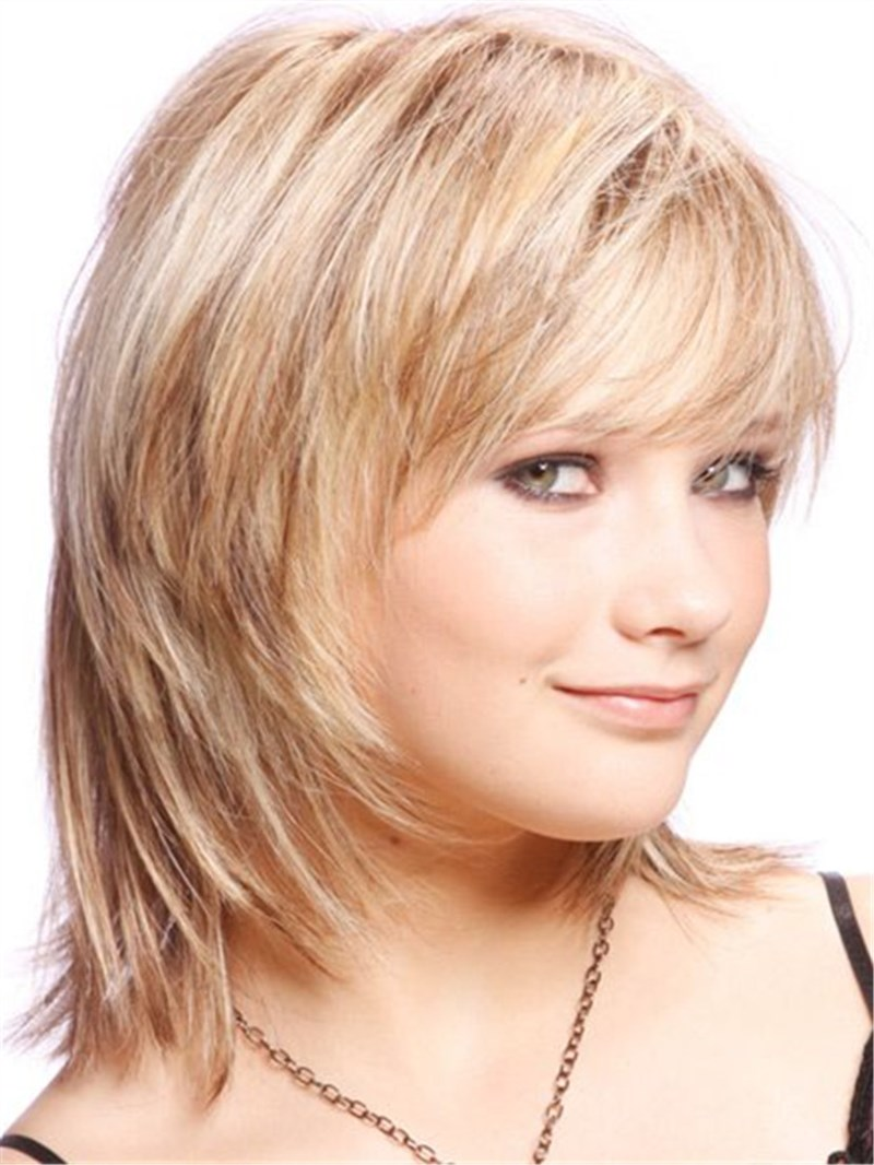 Ericdress Cute Short Layered Blonde Haircut Synthetic Hair Capless Wigs 10 Inches