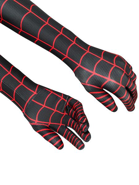 Milanoo Marvel Comics Marvel Comics Secret Wars Spider Man Cosplay Costume Halloween