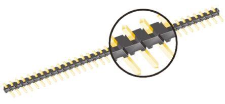 Samtec , TMM, 8 Way, 1 Row, Straight Pin Header