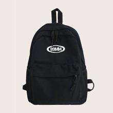 Pocket Front Large Capacity Backpack