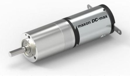 Maxon , 12 V dc, 33 Ncm, Brushed DC Geared Motor, Output Speed 6200 rpm, 9860 (No Load) rpm