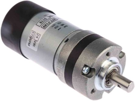 Micromotors , 24 V dc, 20 Ncm, Brushed DC Geared Motor, Output Speed 575 rpm