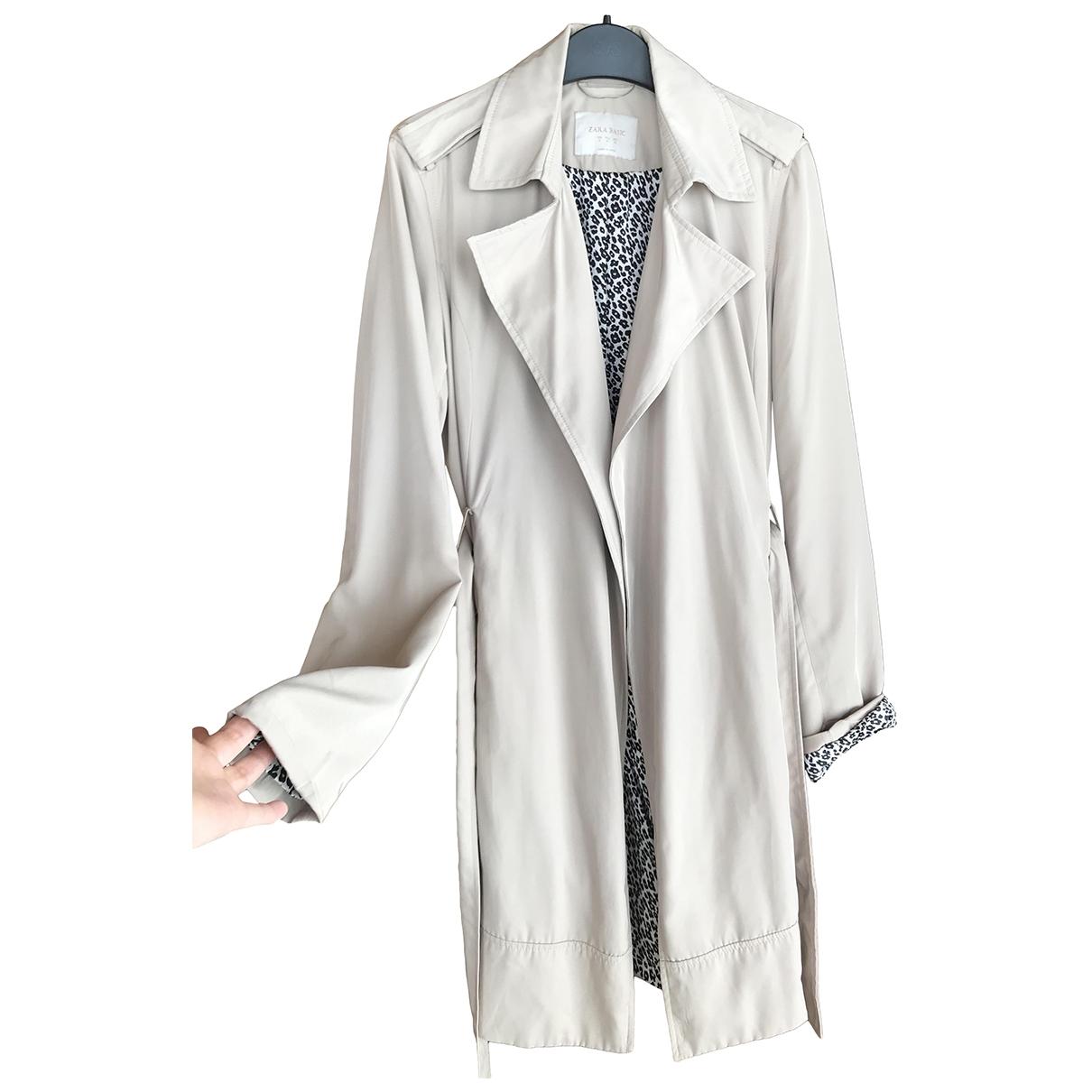 Zara \N Beige Trench coat for Women M International