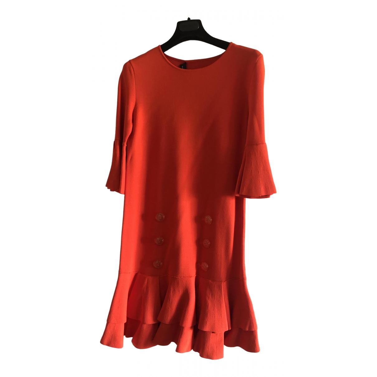 Elisabetta Franchi \N Orange dress for Women 38 IT