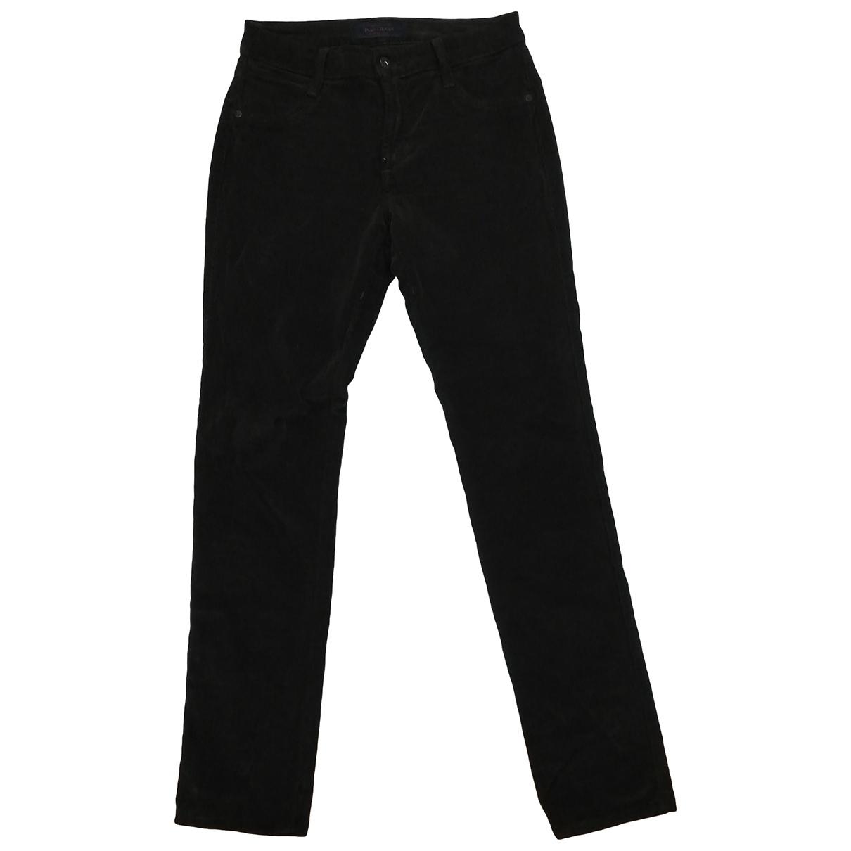 Non Signé / Unsigned \N Green Velvet Trousers for Women S International