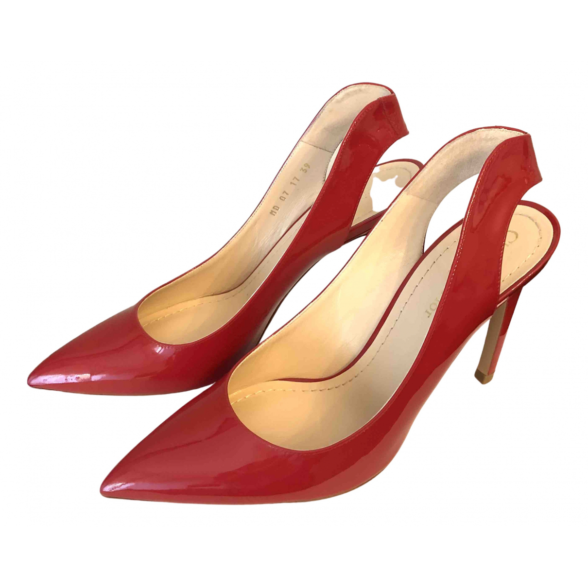 Dior \N Red Patent leather Heels for Women 39 EU