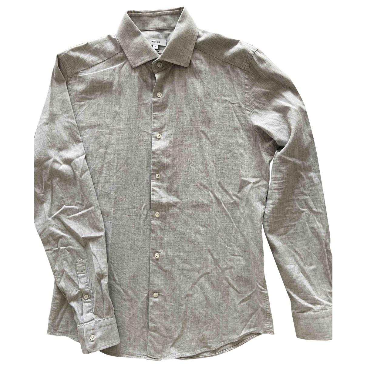 Reiss \N Grey Cotton Shirts for Men M International
