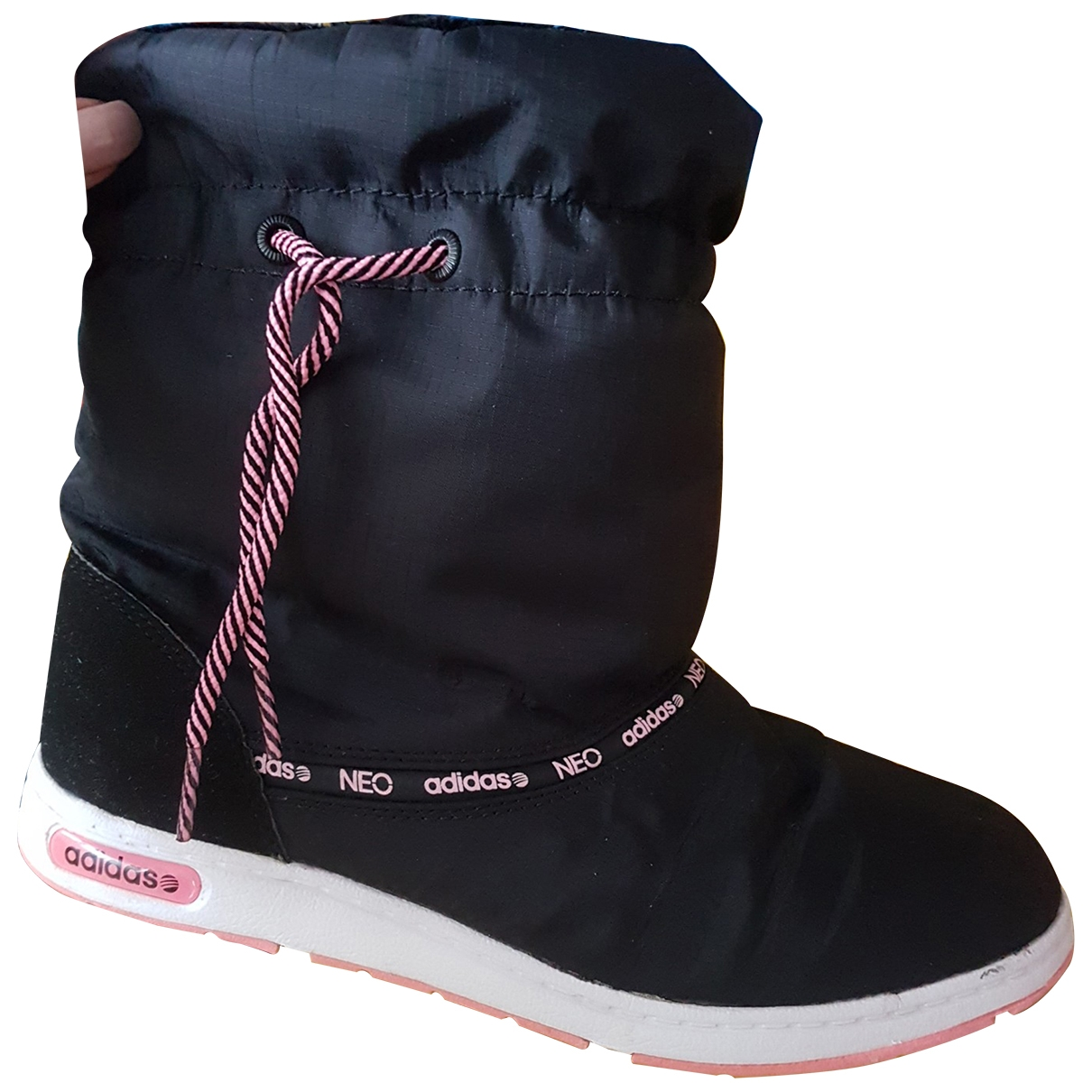Adidas \N Black Ankle boots for Women 38.5 EU