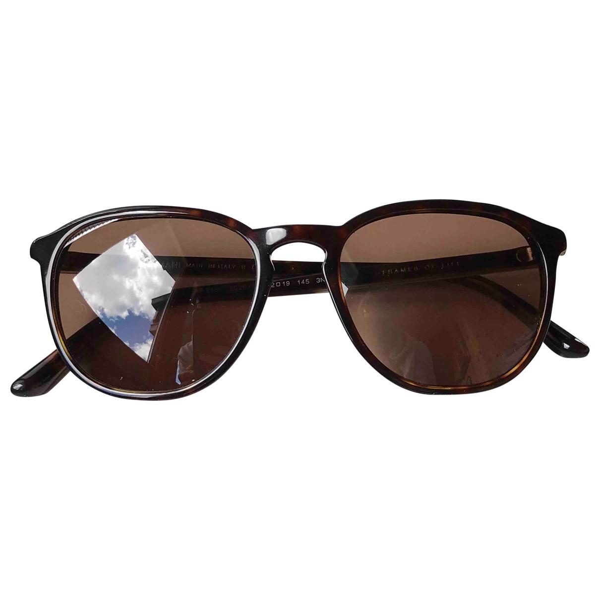 Giorgio Armani \N Brown Sunglasses for Women \N