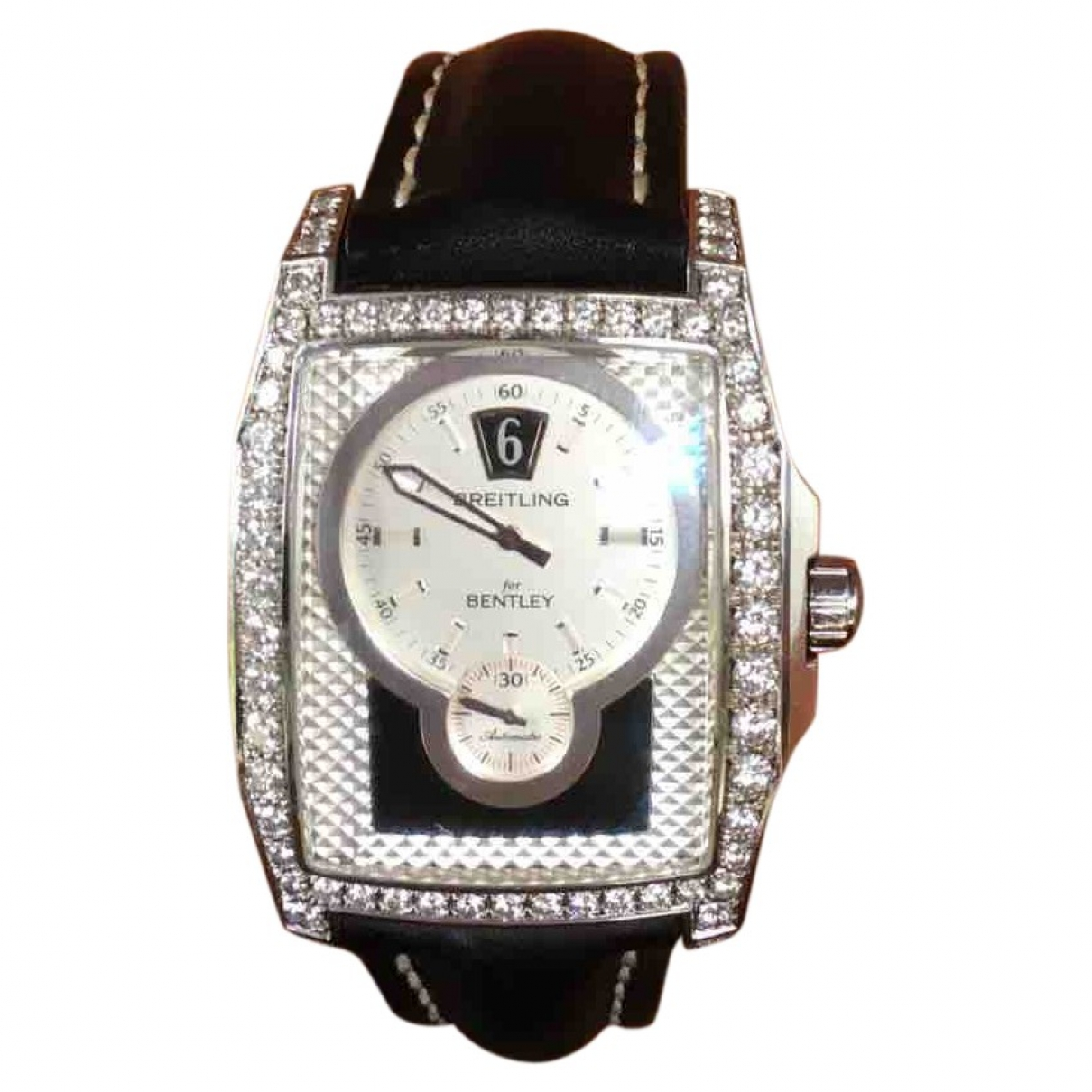 Breitling Breitling For Bentley Black White gold watch for Women \N