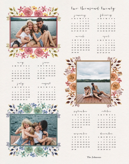 Calendar 11x14 Poster, Home Décor -The Love Of Joy