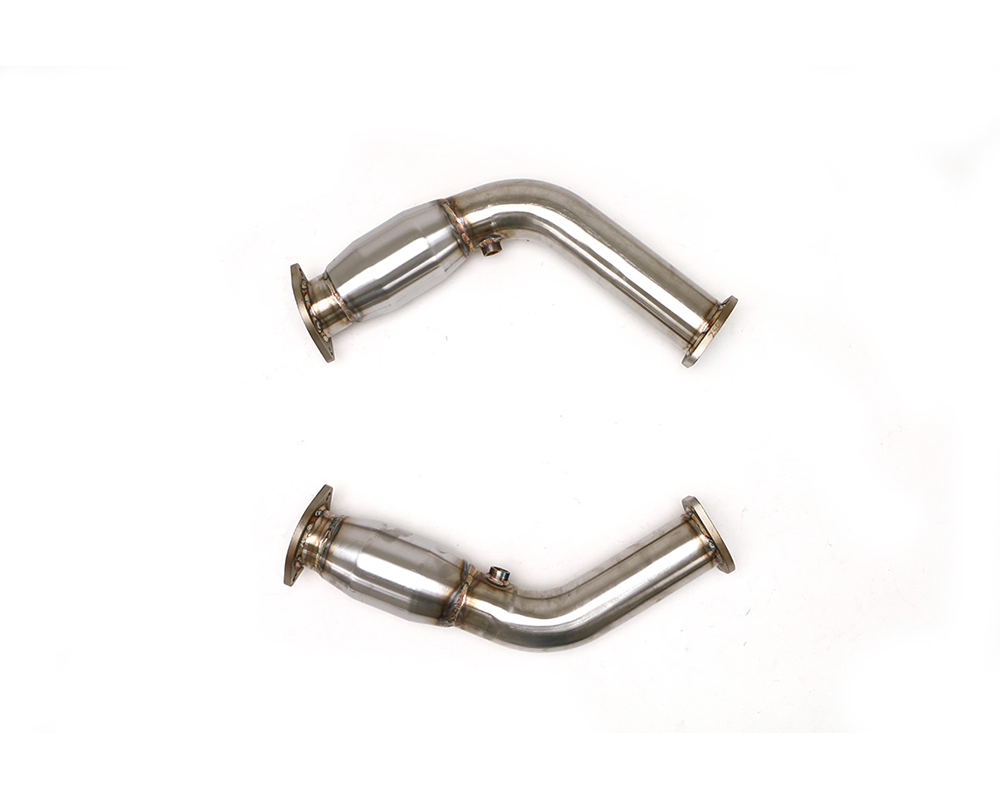 B&B Exhaust FDOM-0338 Front Pipes w/Cats Cadillac CTS-V 16-19