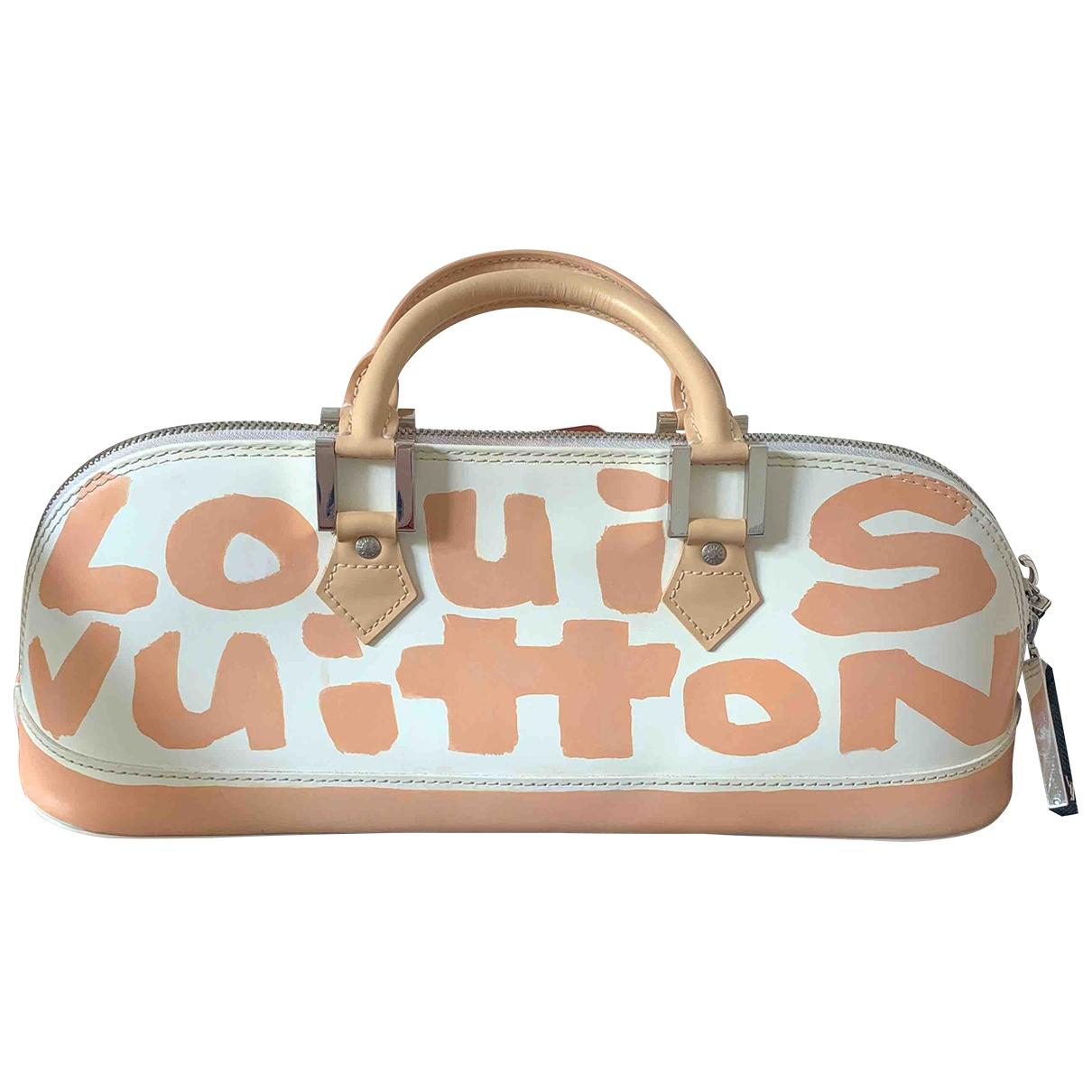 Louis Vuitton Alma Multicolour Leather handbag for Women \N