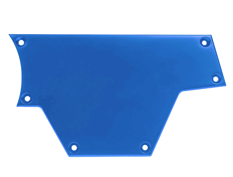 Right Side Solid Plate for Polaris RZR Blue PRP Seats ODL-217106