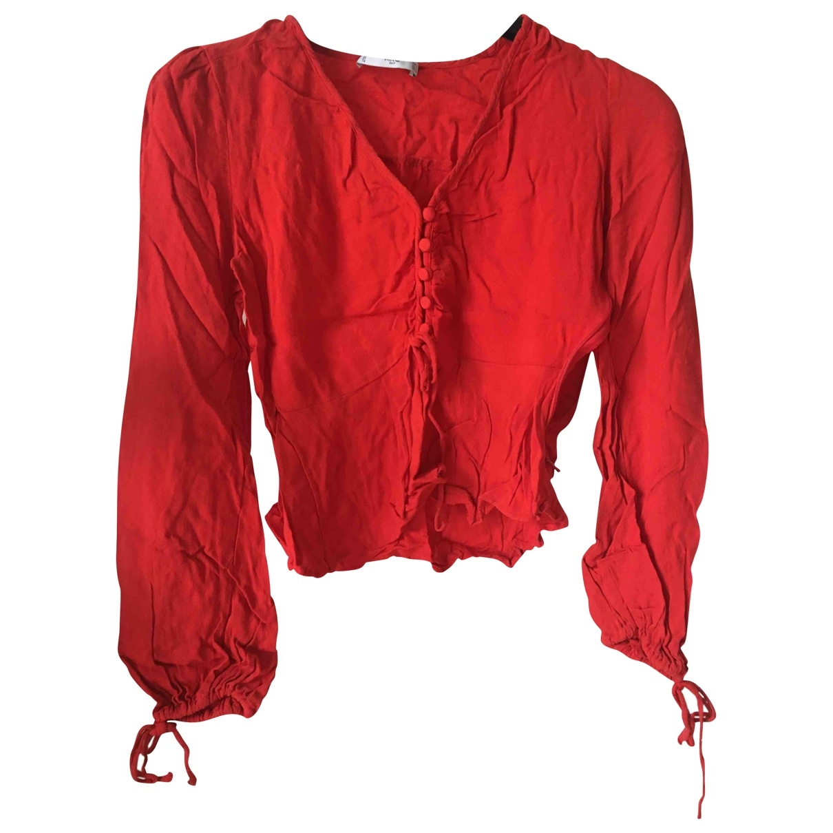 Mango \N Red  top for Women 36 FR