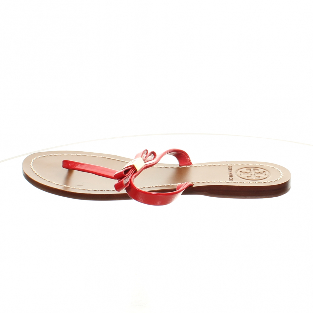 Tory Burch N Red Patent leather Sandals for Women 7 US