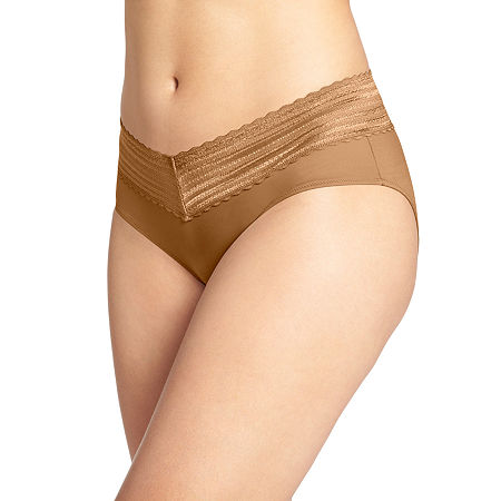 Warners Hipster Panty 5609j, Small , Beige