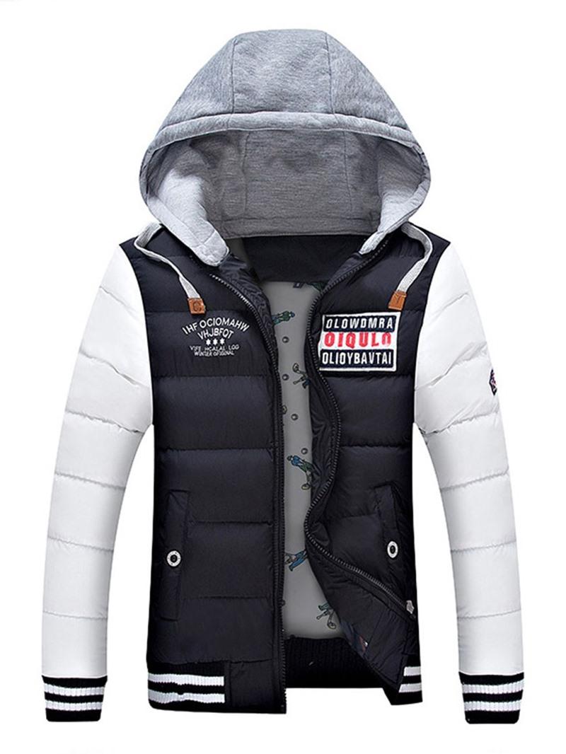 Ericdress Standard Hooded Zipper European Men's Down Jacket