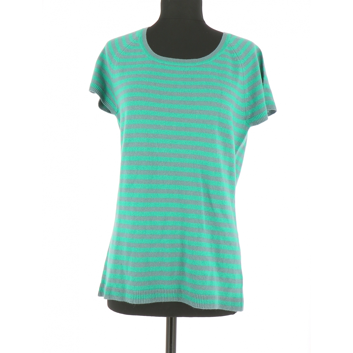 Eric Bompard \N Green Cashmere  top for Women 42 FR