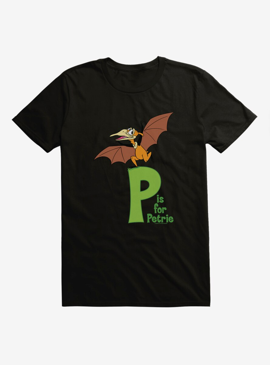 The Land Before Time P Is For Petrie Alphabet T-Shirt