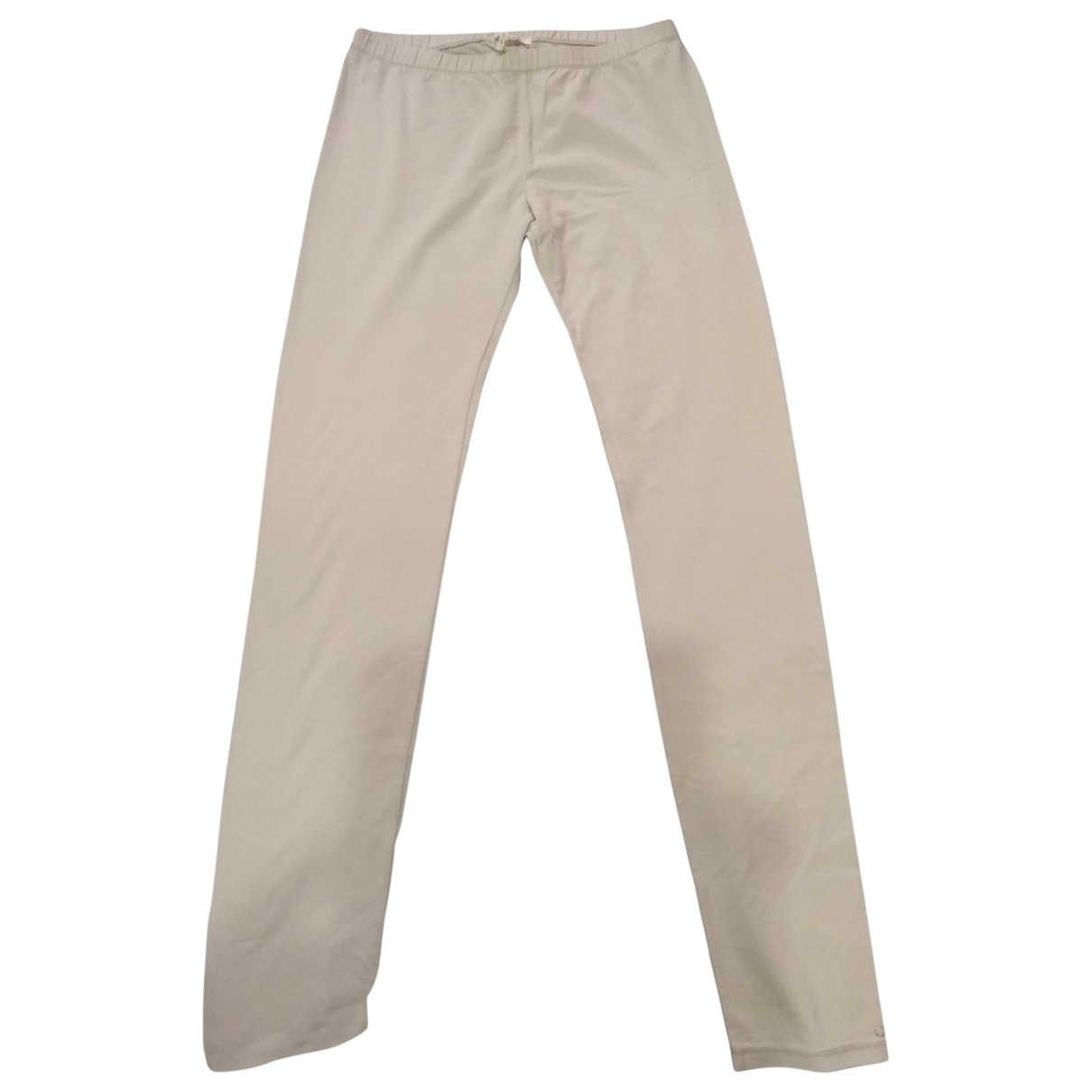 Chloé \N Grey Cotton Trousers for Kids 14 years - S