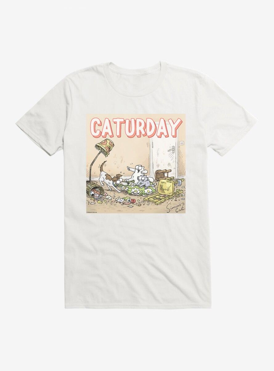 Simon's Cat Caturday T-Shirt
