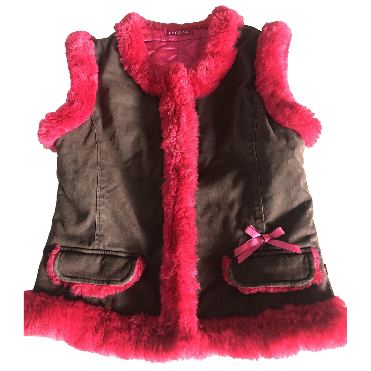 Escada \N Khaki Cotton coat for Women XS International