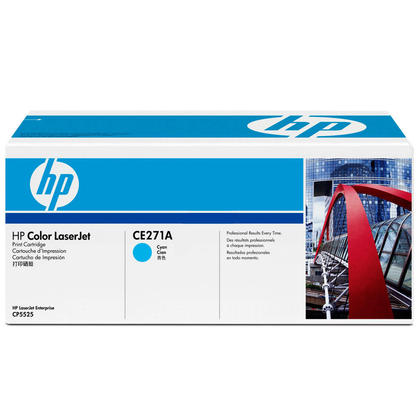 HP 650A CE271A Original Cyan Toner Cartridge