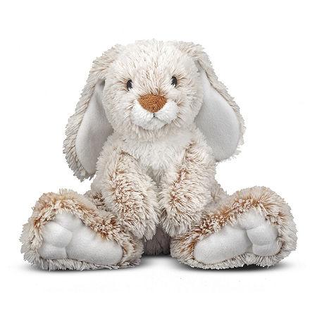 Melissa & Doug Burrow Bunny Plush, One Size , Multiple Colors