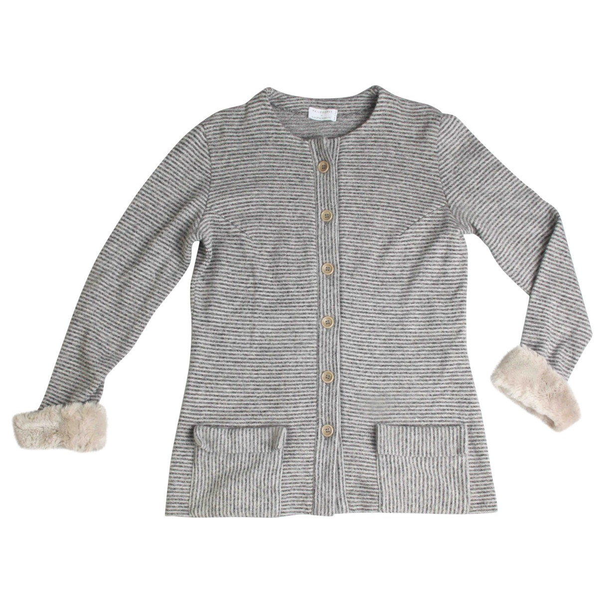 Alberta Ferretti \N Grey Wool Knitwear for Women S International
