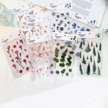 4sheets Flower & Plants Print Random Sticker